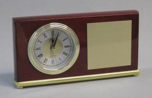 Rosewood Desk Clock Thumbnail