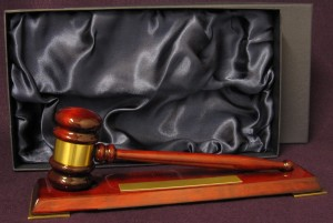 Gavel with Base Thumbnail
