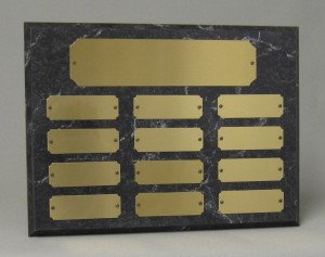 Horizontal perpetual plaque Thumbnail