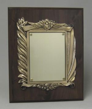 Bronze frame plaque Thumbnail