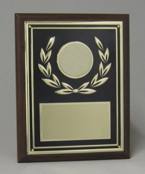 Golden Wreath Plaque Thumbnail